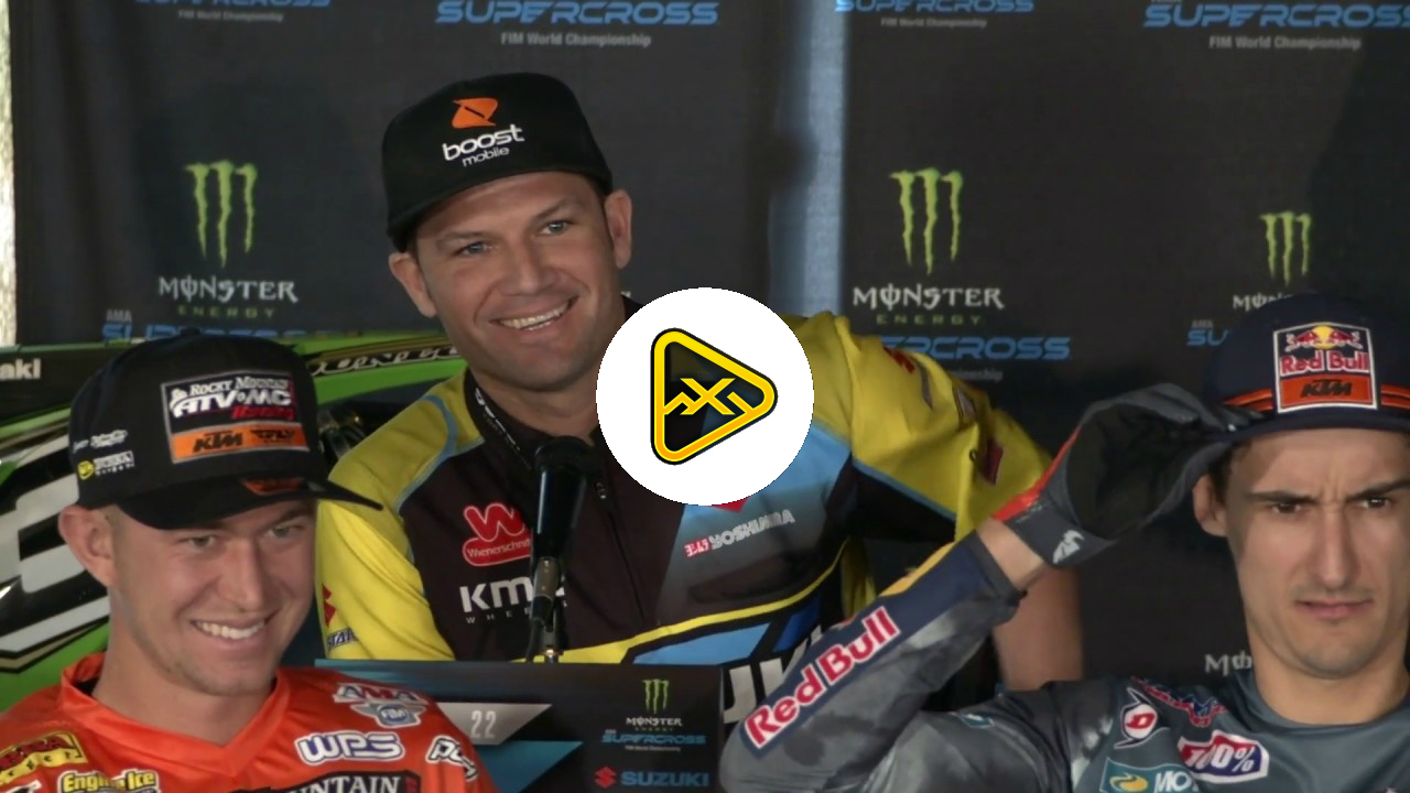 Chad Reed Calls RC Old – 2019 Anaheim 1 SX