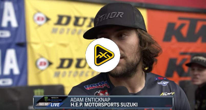 Adam Enticknap Interview – 2019 Glendale SX