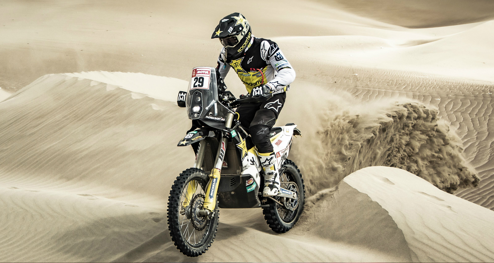 Andrew Short Inside Top 5 at Dakar's Stage 8