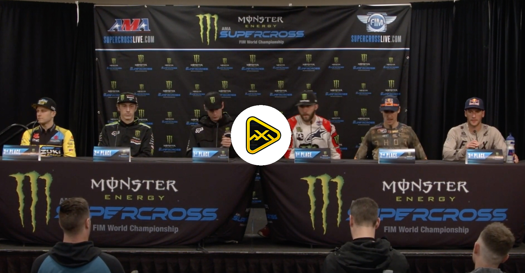 450 / 250 Press Conference – 2019 San Diego SX