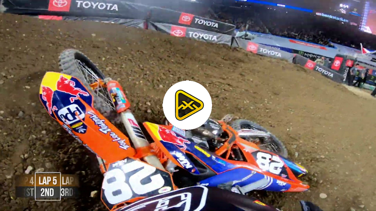 Helmet Cam: Jordon Smith's Main Event at Minneapolis SX