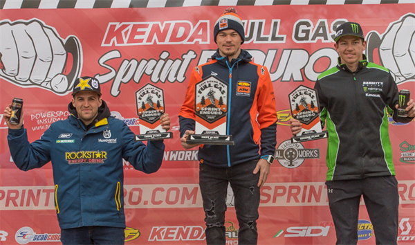 Kailub Russell Wins 2019 Full Gas Sprint Enduro Series Opener