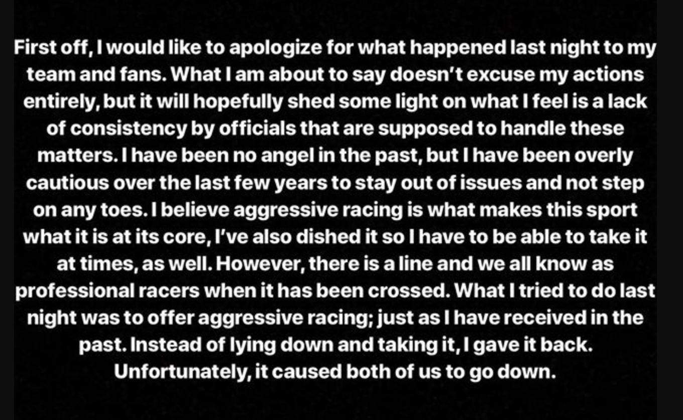 Tyler Bowers Responds to Disqualification in Arlington
