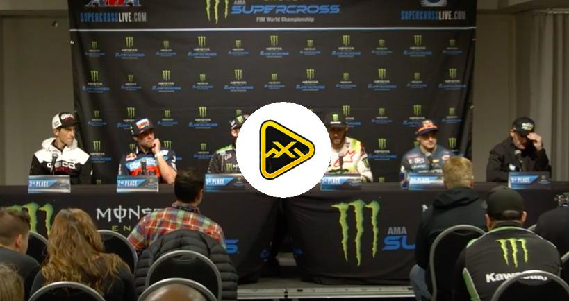 Post Race 250/450 Press Conference – 2019 Detroit SX