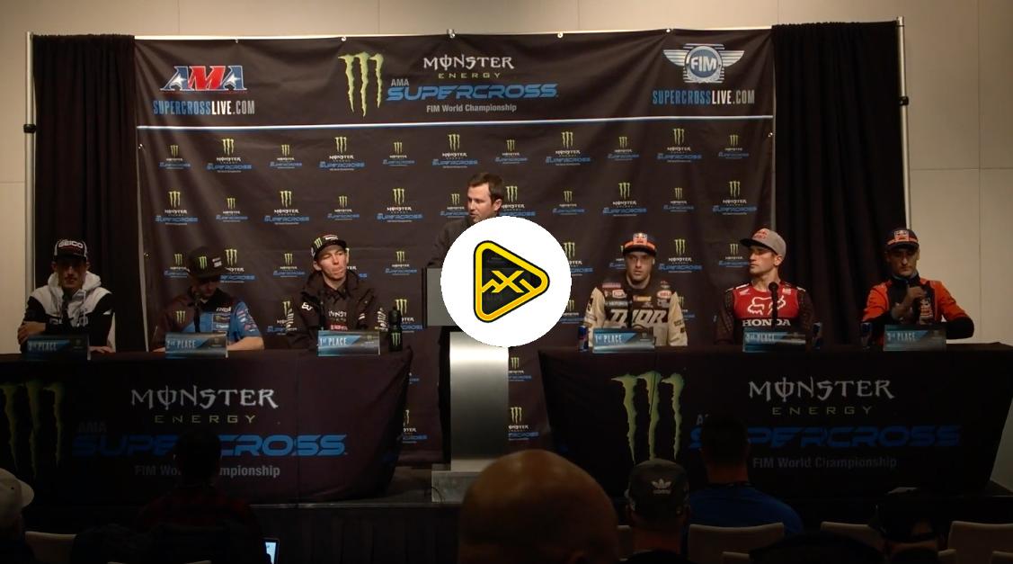 Post Race 250/450 Press Conference – 2019 Arlington SX