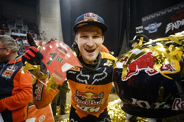 Taddy Blazusiak Wins Hungarian SuperEnduro