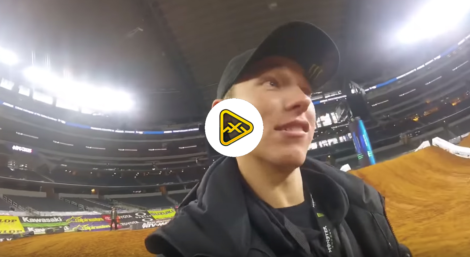 Behind the Scenes – Austin Forkner at Dallas SX