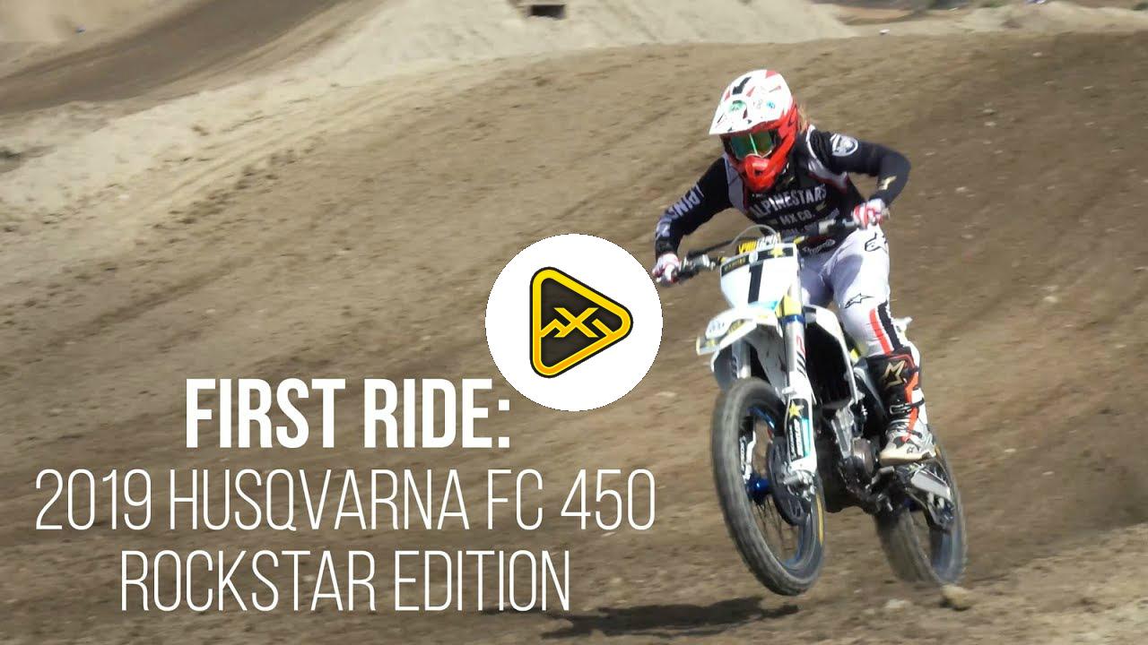 First Ride – 2019 Husqvarna FC 450 Rockstar Edition
