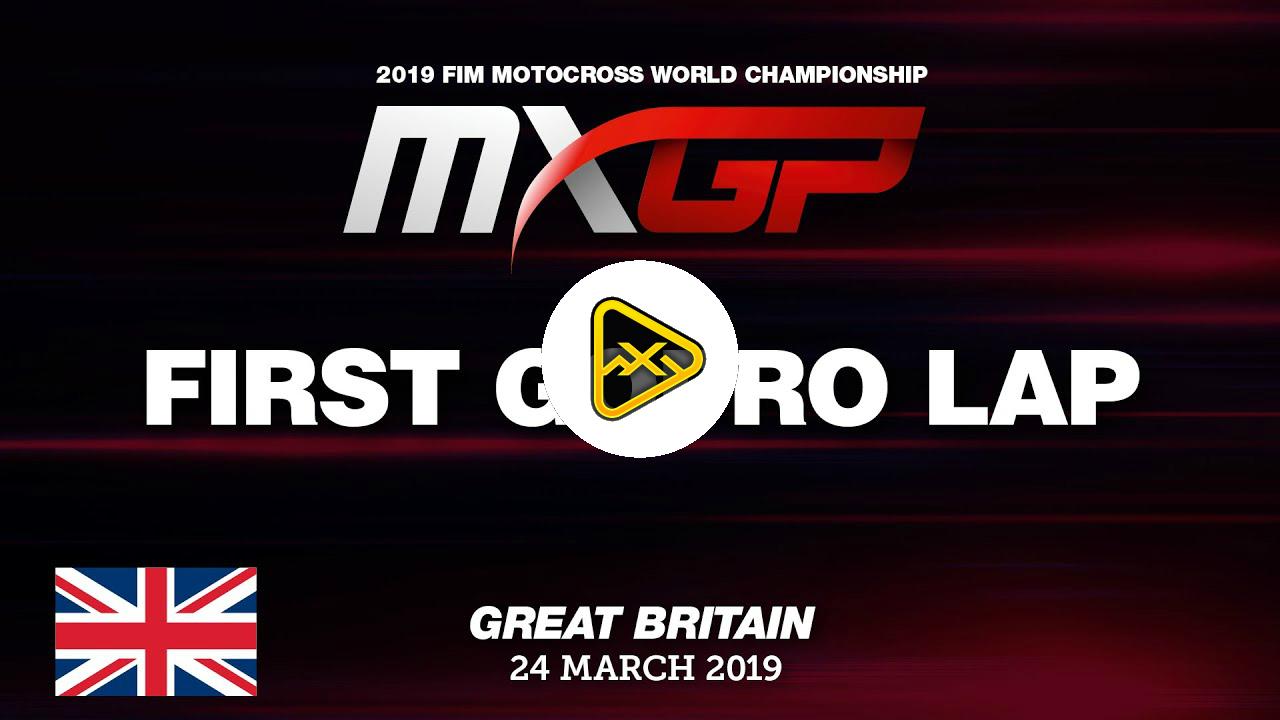Helmet Cam: Tim Gasjer at MXGP Great Britain