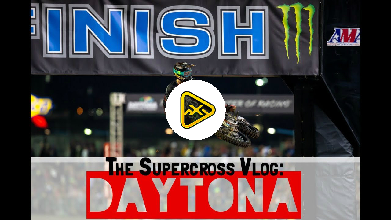 AJ Catanzaro is Larry Loop-Out – Daytona SX vlog
