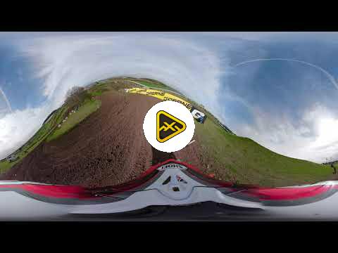 360 Helmet Cam: Max Anstie at MXGP Great Britain