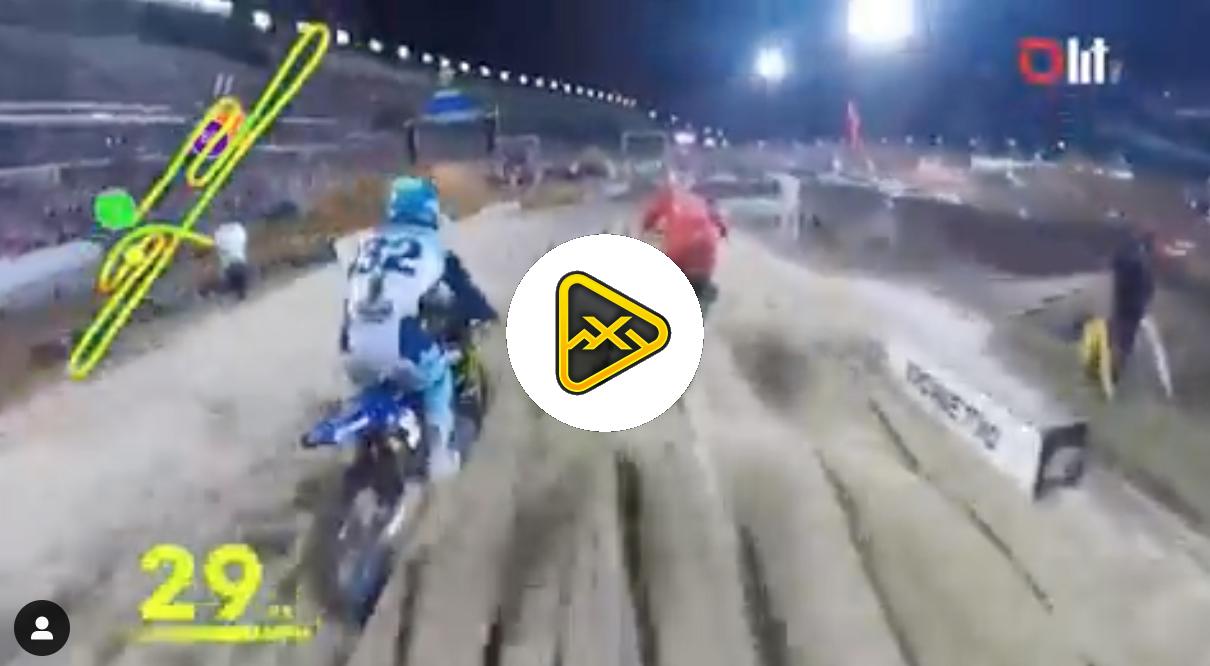 Helmet Cam: Austin Forkner at Daytona SX