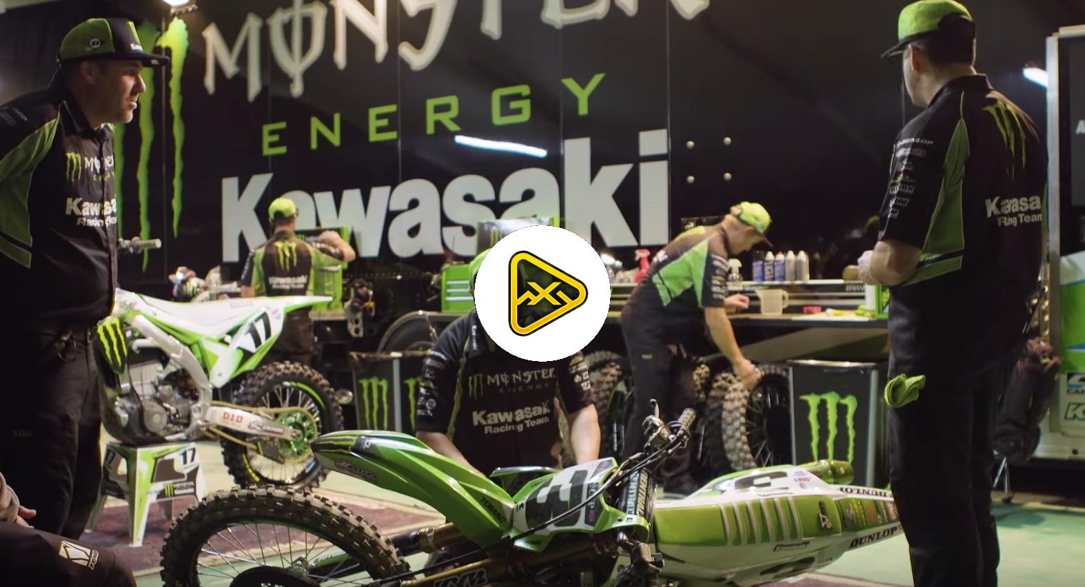 Kawasaki Science of Supercross – Mechanics