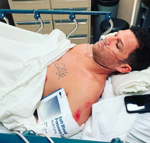 Chad Reed Injury Update from Hospital Bed