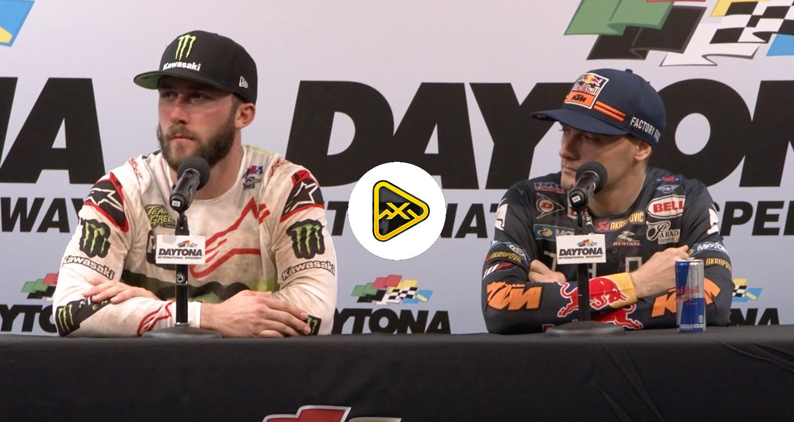 Post Race 450 Press Conference – Daytona SX