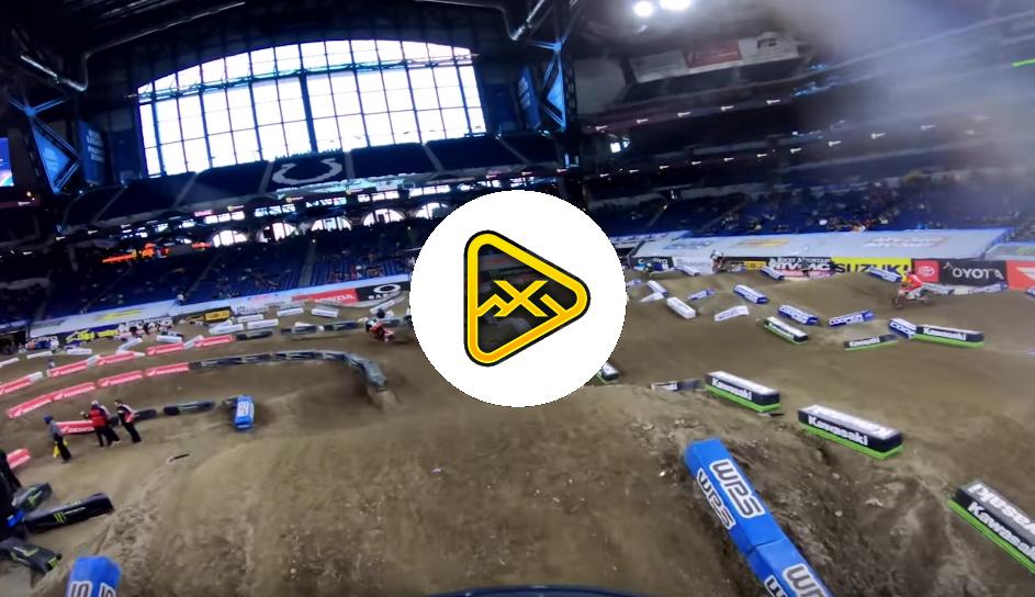 Helmet Cam: Dean Wilson Lap at 2019 Indy SX