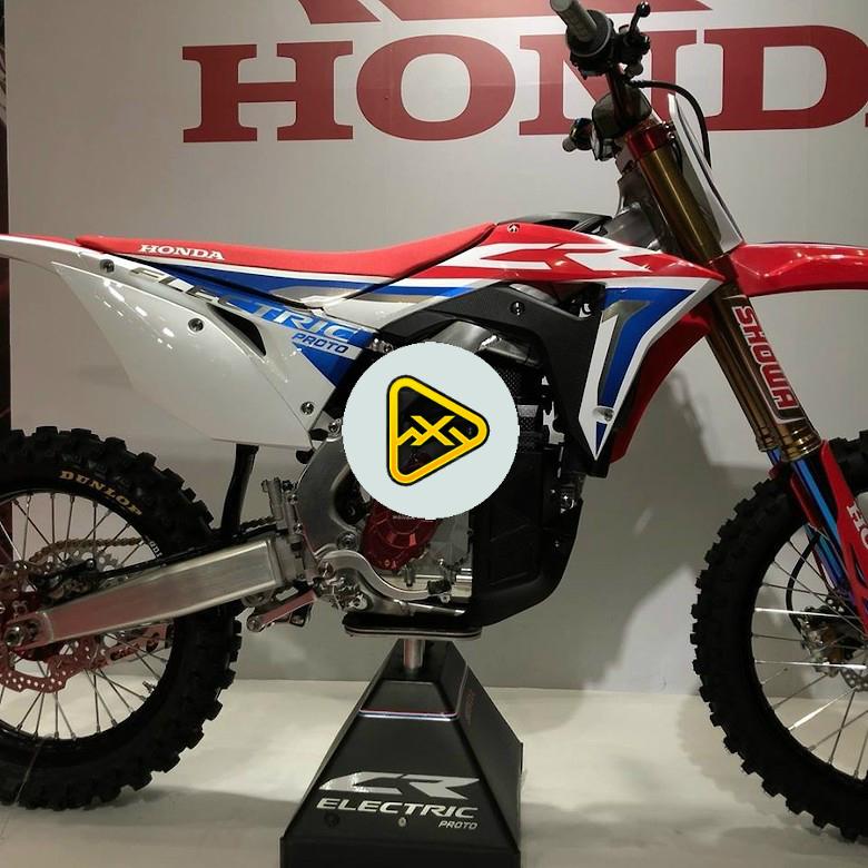 Honda's CRF Prototype Electric Motocross Bike