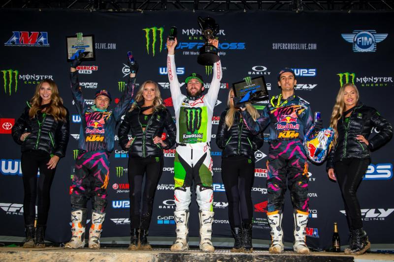 Tomac and Cianciarulo Win at 2019 Denver SX