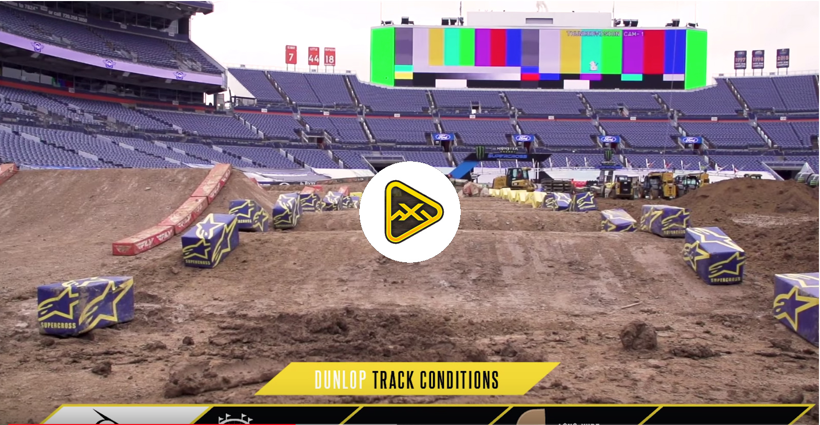 Track Conditions Report – Denver SX