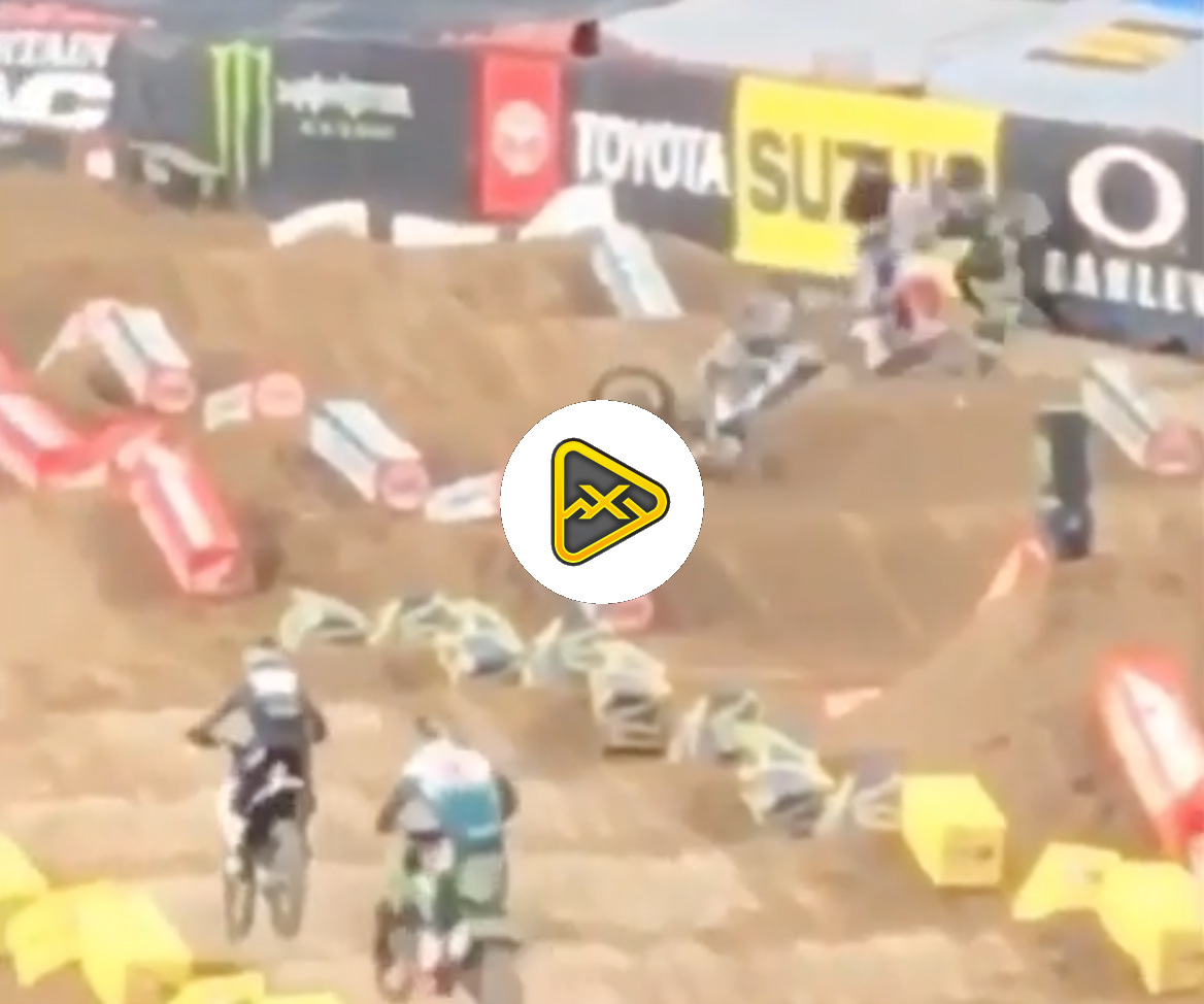 Video of Chris Blose's Big Main Event Crash in Denver