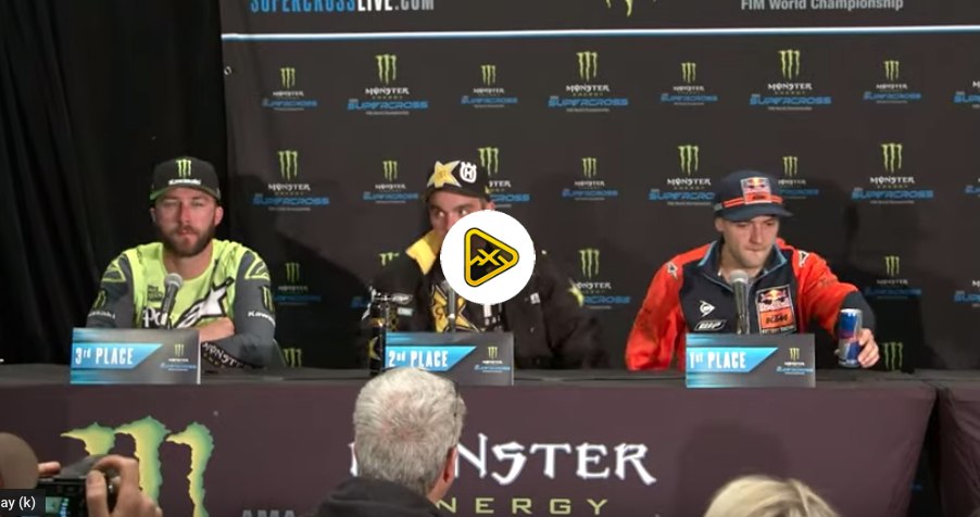 Podium Press Conference – East Rutherford SX