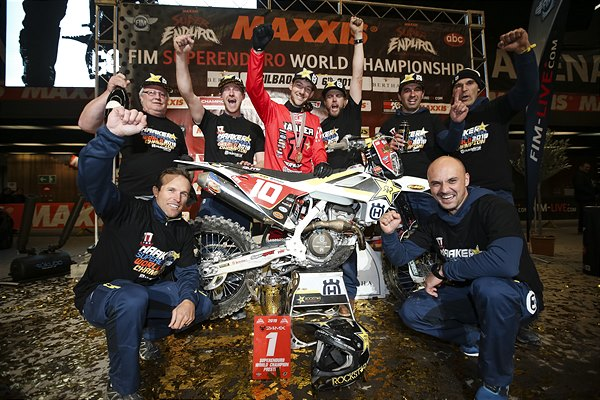 COLTON HAAKER CROWNED SUPERENDURO WORLD CHAMPION