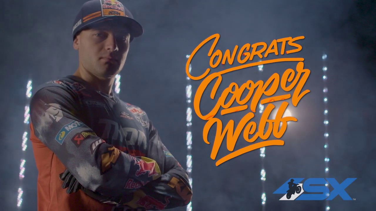 Cooper Webb – 2019 450SX Champion Tribute