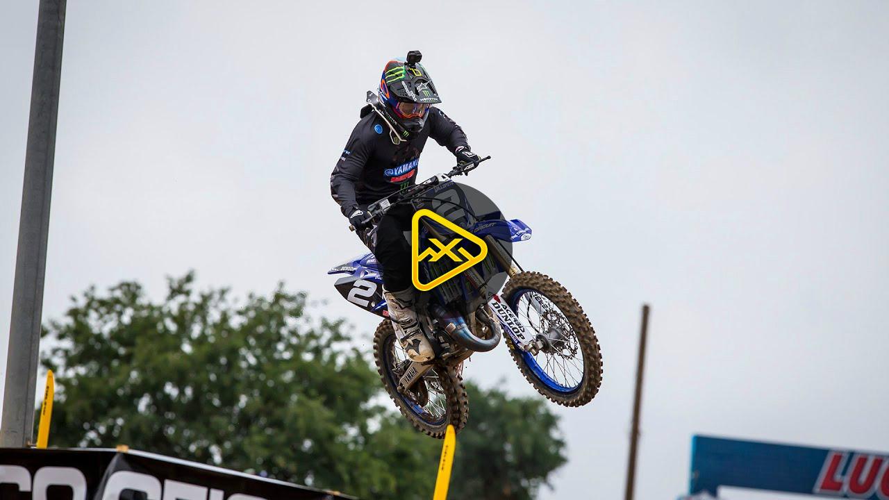 Helmet Cam: Ryan Villopoto 125 Race Full Moto | 2019 Hangtown