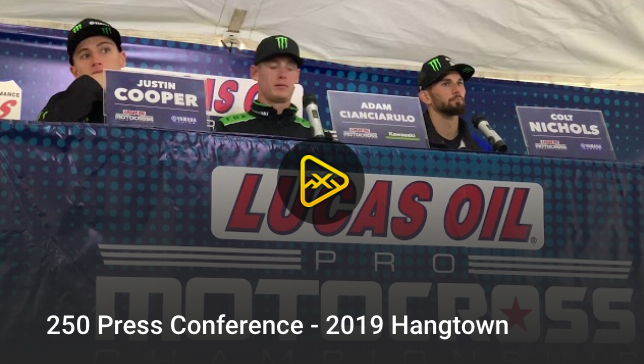 250 Press Conference – 2019 Hangtown