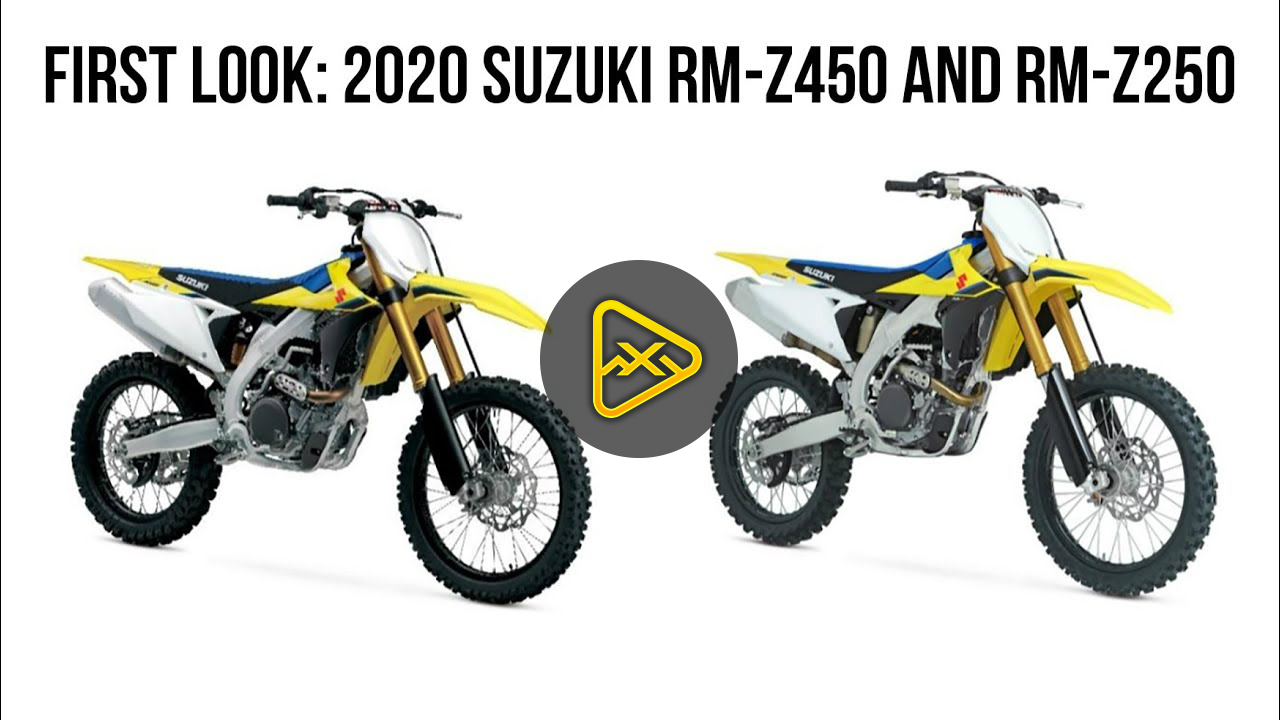 First Look: 2020 Suzuki RM-Z250 and RM-Z450