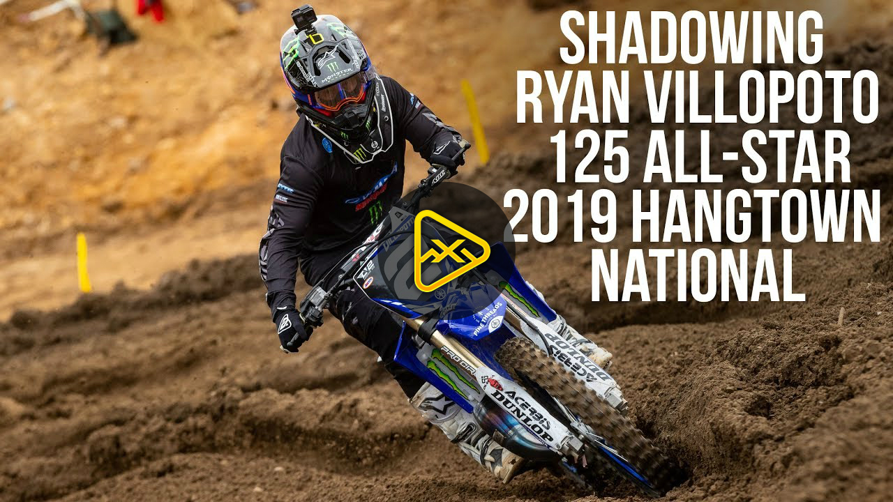 Shadowing Ryan Villopoto – 125 All-Stars Hangtown