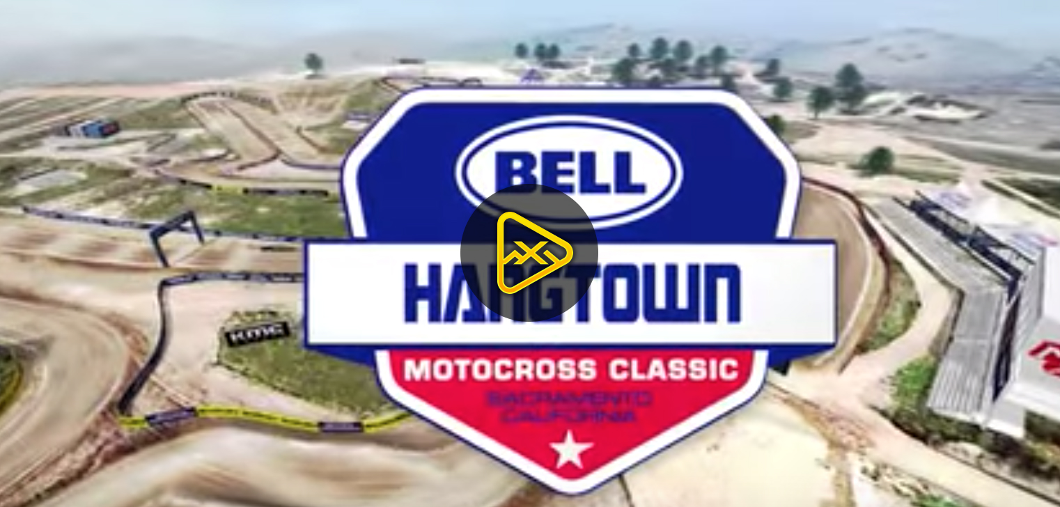 2019 Hangtown National Animated Track Map