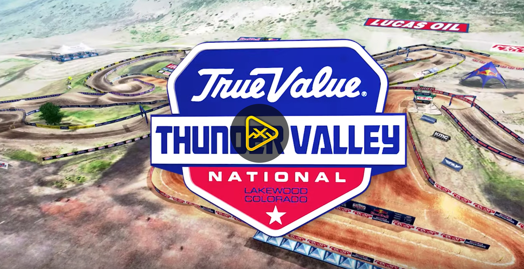 2019 Thunder Valley National Animated Track Maps