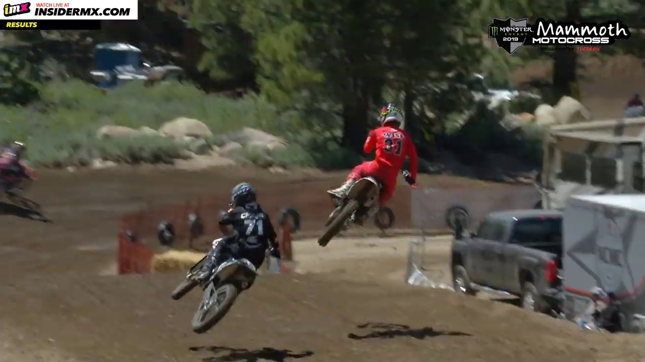 125cc All Star Moto 2  – Mammoth MX 2019