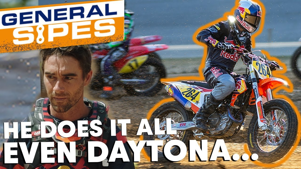 General Sipes E1 – SX, GNCC, Flat Track in 1 Week
