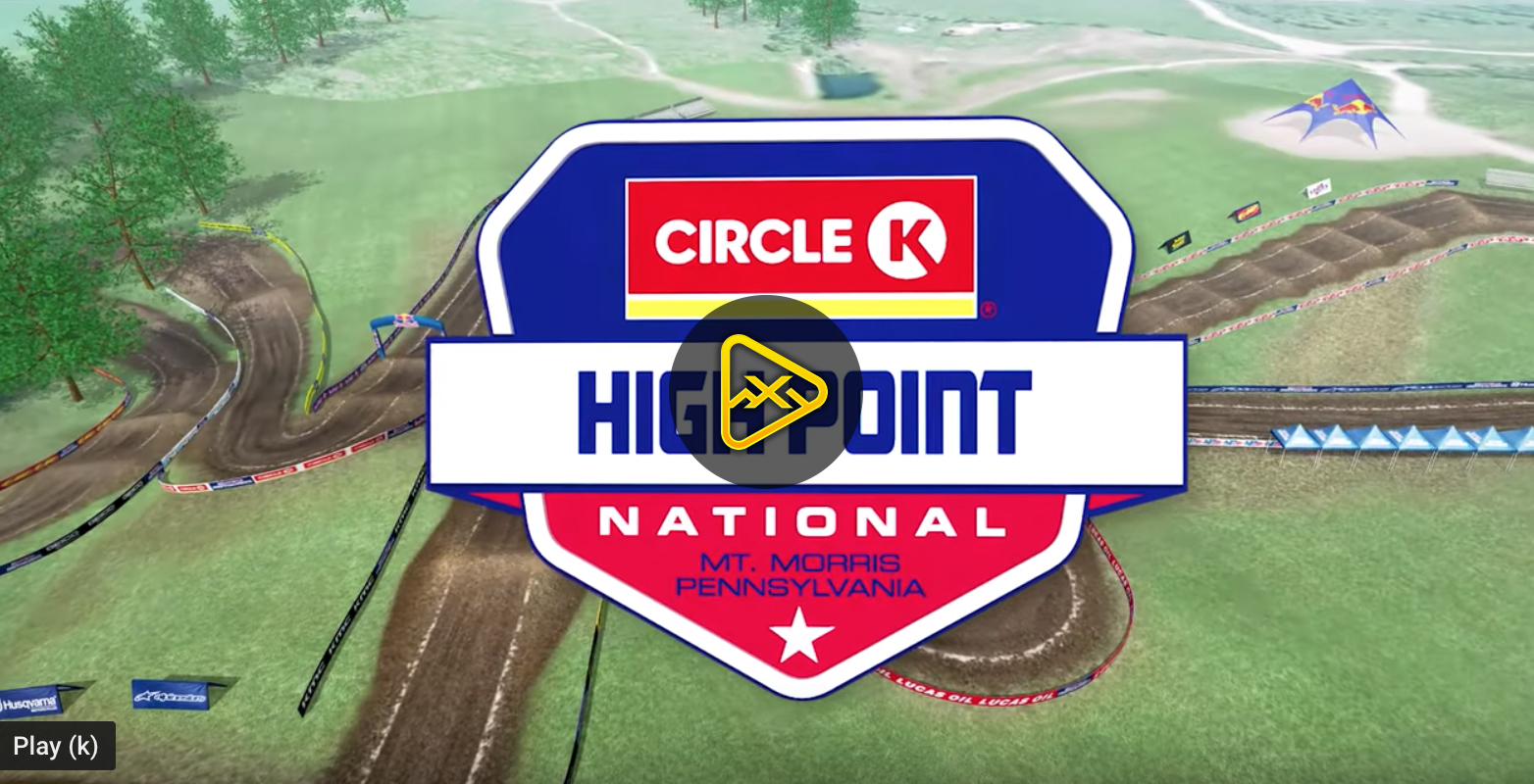 2019 High Point National Animated Track Maps