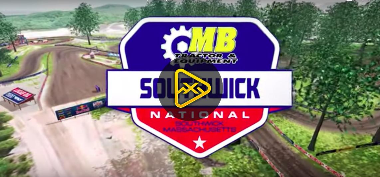 2019 Southwick National Animated Track Maps
