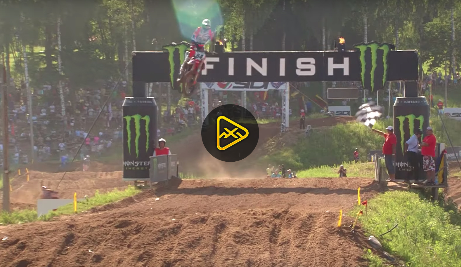2019 MXGP of Latvia (Kegums) Highlights