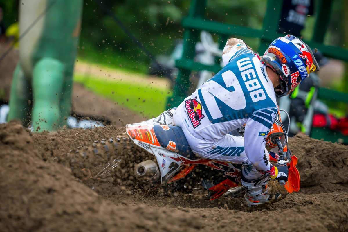 Cooper Webb Injured at Unadilla