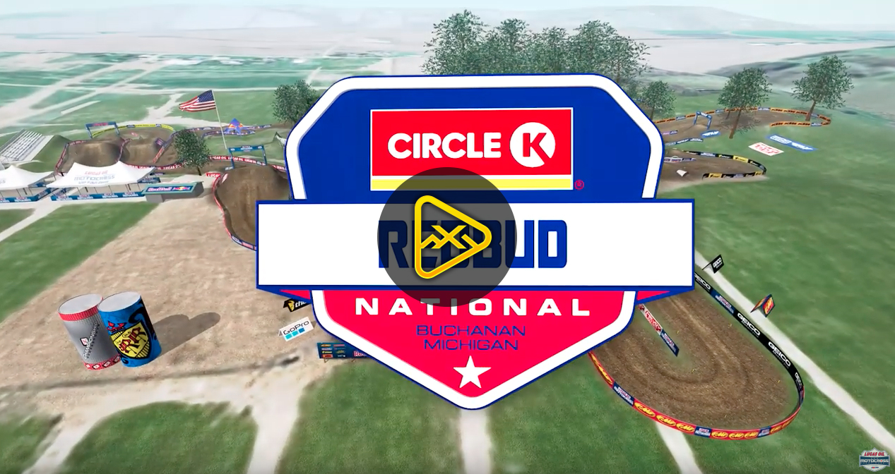 2019 RedBud National Animated Track Maps
