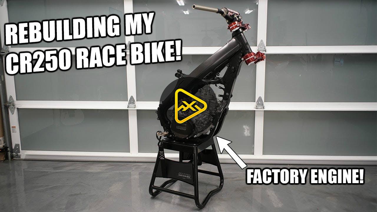 Cole Seely vlog – CR250 Bike Build