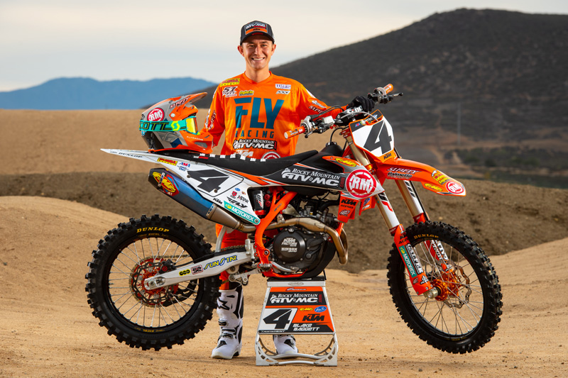 Blake Baggett Out for Remainder of 2019 Pro Motocross