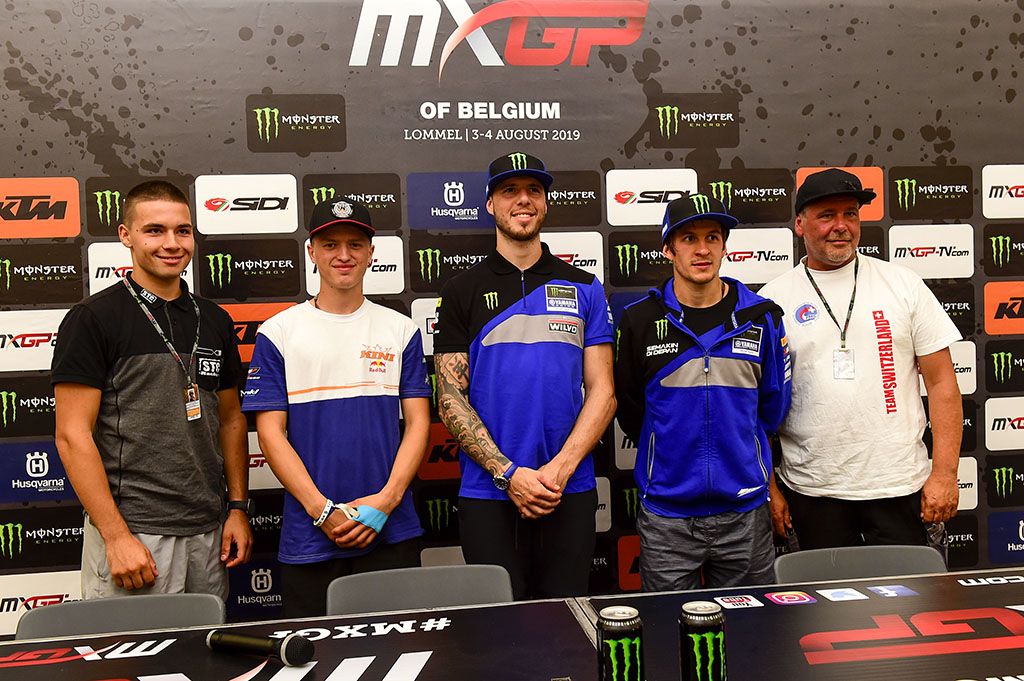 Team Switzerland for 2019 MXoN Announced