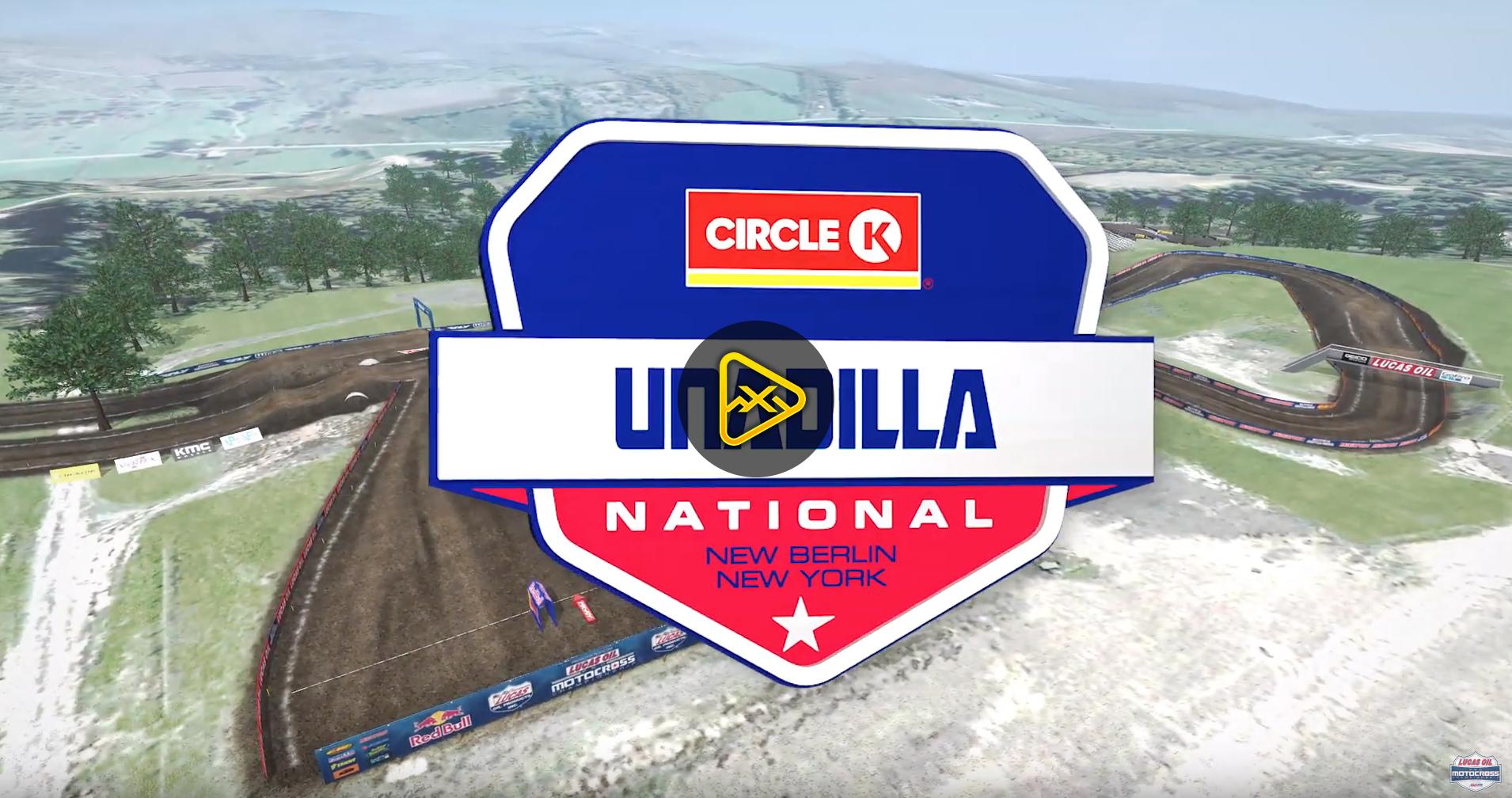 2019 Unadilla National Animated Track Maps