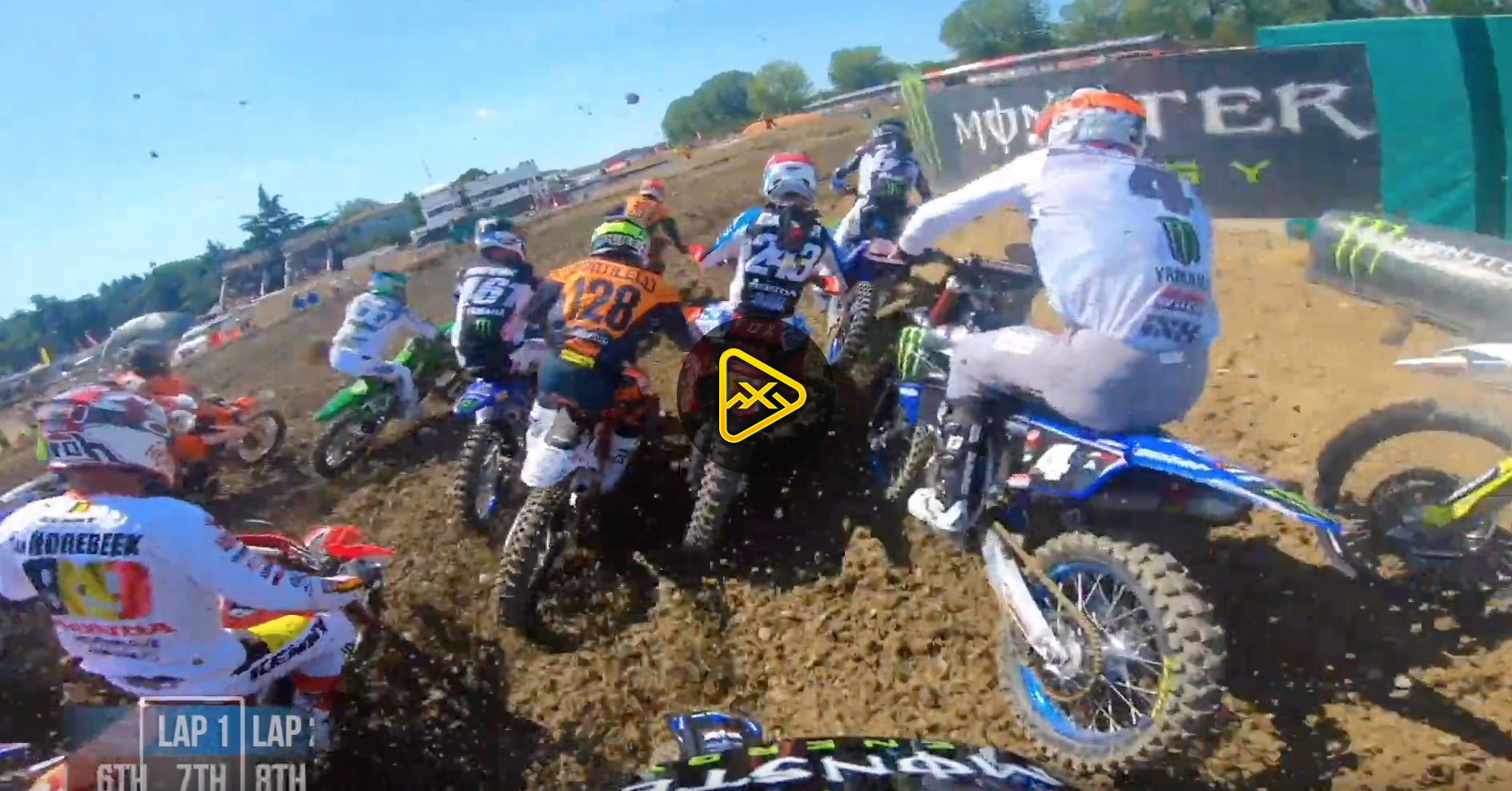 GoPro: Gautier Paulin at MXGP of Italy