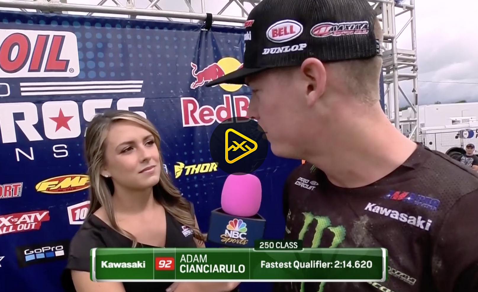 Adam Cianciarulo Interview – 250 Fastest Qualifier