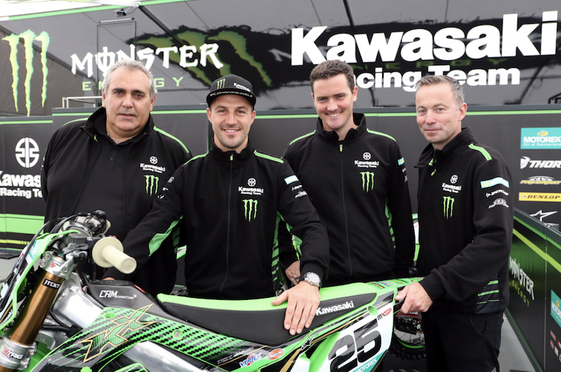 Clement Desalle Re-Signs with KRT Kawasaki