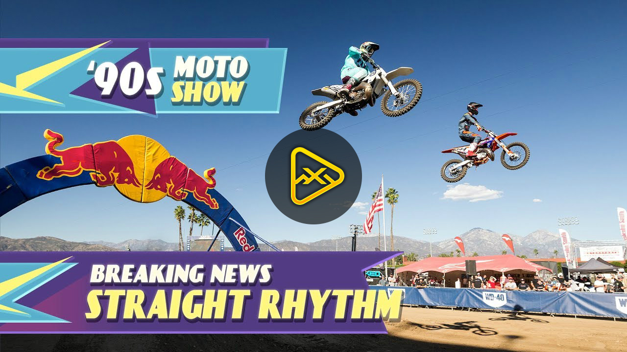 90's Moto Show: Straight Rhythm ft. Cooper Webb & Ryan Sipes