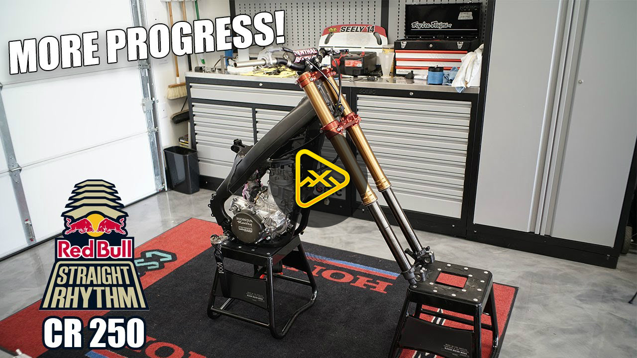 Cole Seely CR250 Build Ep.6