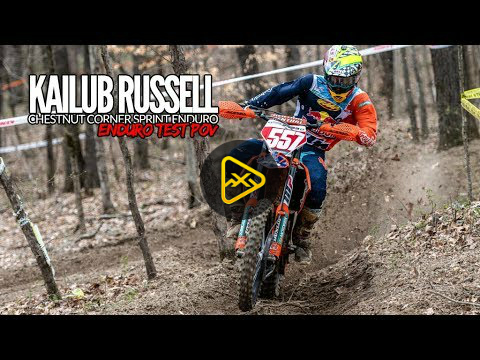 Helmet Cam: Kailub Russell – Chestnut Corner Sprint Enduro